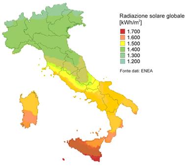Energia Fotovoltaica in Italia