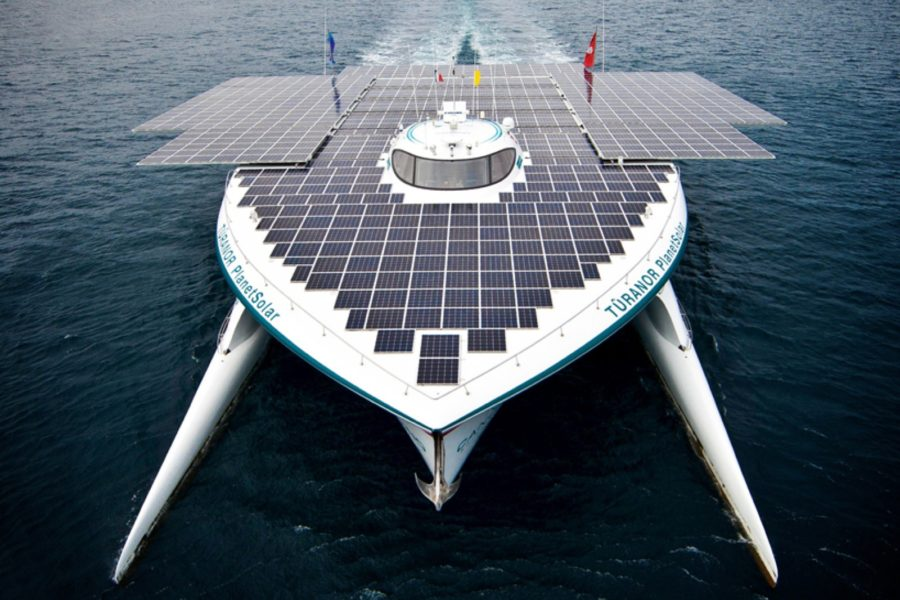 Arriva il fotovoltaico sulle imbarcazioni, a Monaco il confronto tra loro
