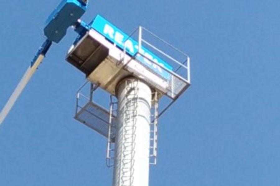 """Reatek Wind Turbine """"AEOLIAN FUNCTION 60KW"""""""