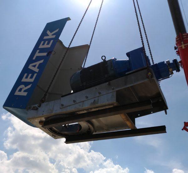 Reatek: installazione turbina eolica a Lucera (Fg)