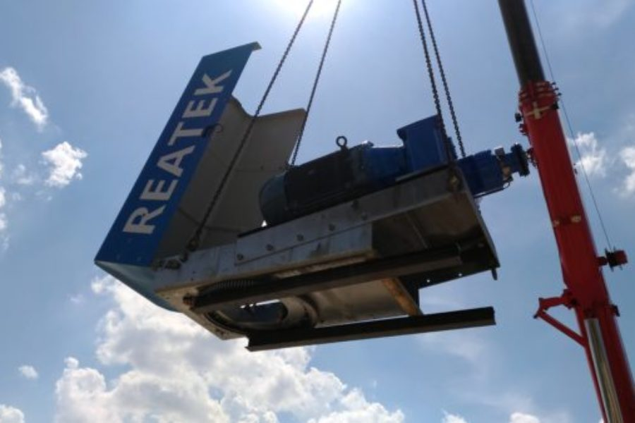 REATEK: installation wind turbine in Lucera (Italy)