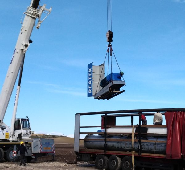 Reatek: Installation wind turbine 60-100 Kw